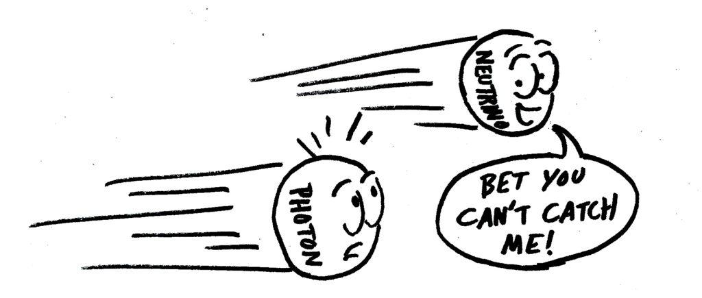 Os neutrinos mais rápidos que a luz