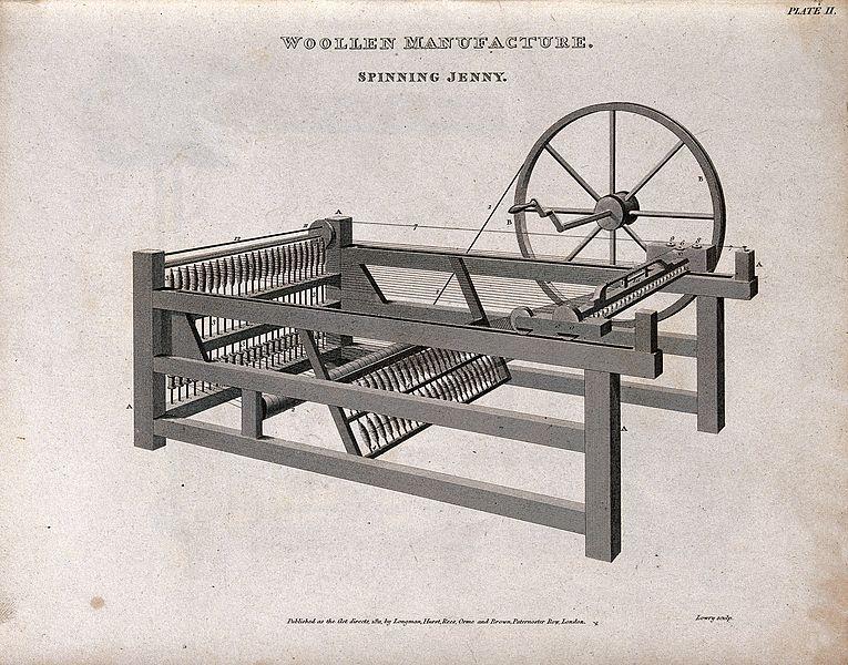 A máquina-ferramenta e o início de um processo